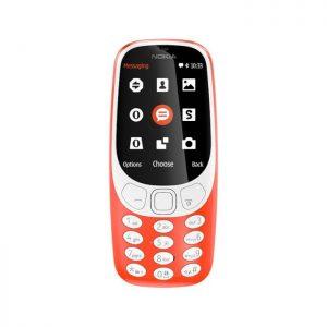 گوشی موبایل نوکیا مدل Nokia 3310 2017 دو سیم کارت Nokia 3310 Dual SIM 16MB Mobile Phone سیستم عامل : ندارد حافظه داخلی : 16 مگابایت مقدار رم :ندارد دوربین : 2مگاپیکسل پشتیبانی از شبکه ارتباطی : 2G باتری : لیتیومیون 1200میلی آمپر بر ساعت